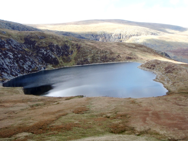 The small reservoir of Melynllyn