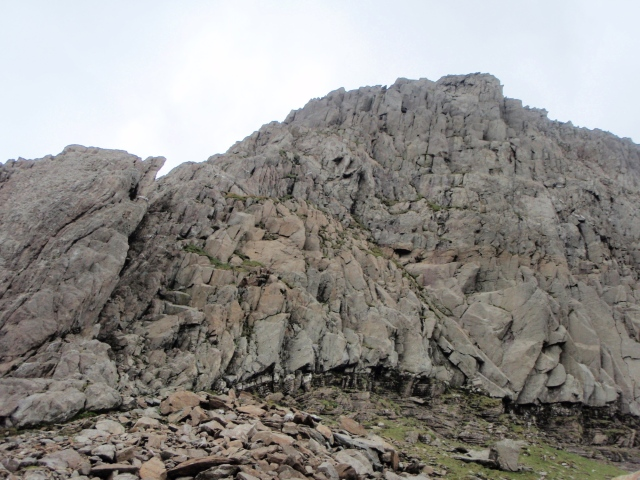 The Clogwyn y Person Arête