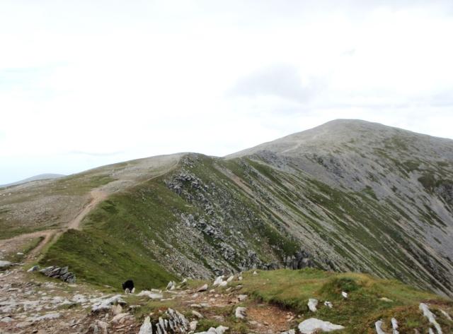 The ridge to Carnedd Dafydd