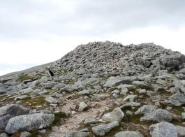 Carnedd Dafydd summit