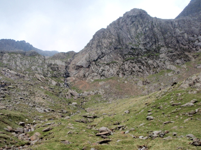 The upper part of Cwm Glas Mawr