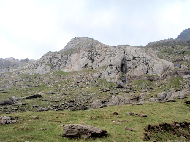 Rock climbers crag ….