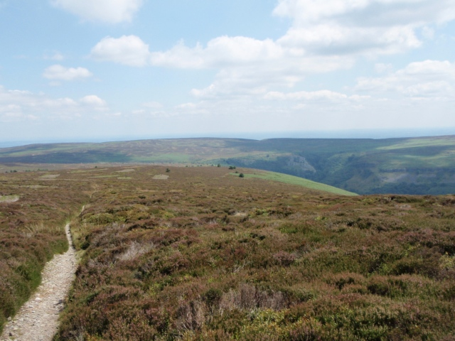 The route we nearly took on the first visit ….