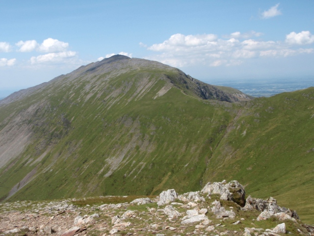 Looking northwest towards Elidir Fawr
