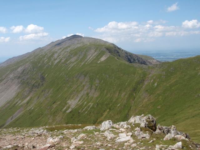 Looking northwest towards Elidir Fawr