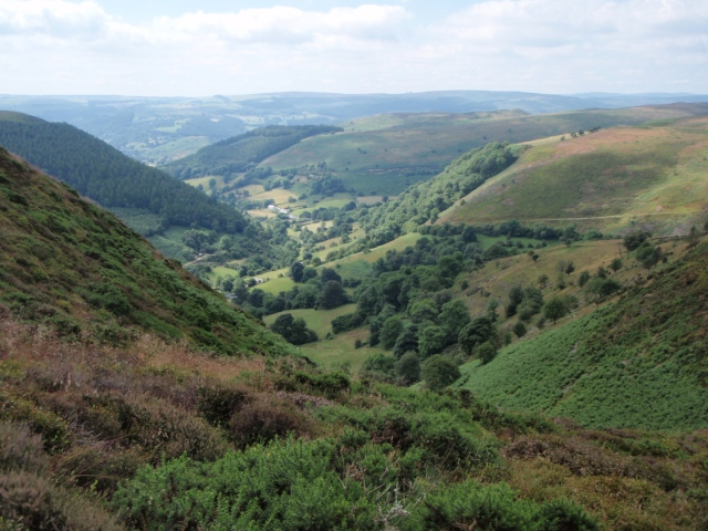 Looking south towards Llangollen