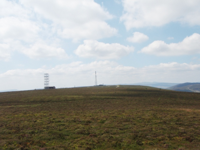 The two transmitting masts