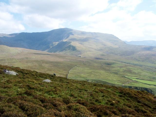 Carnedd Dafydd seen from the north