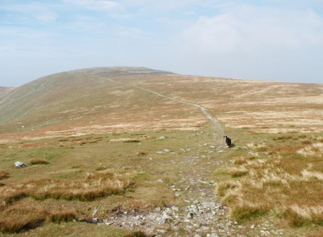 Carnedd Gwenllian ahead ….