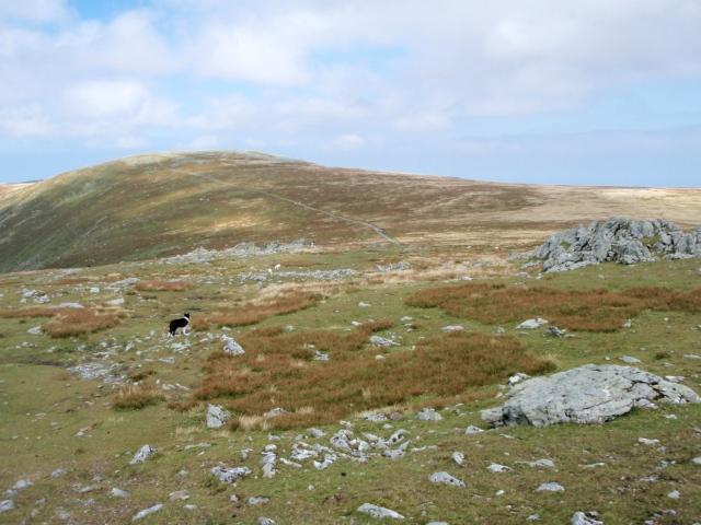 Different terrain of the return leg