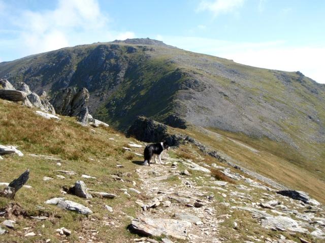 Carnedd Llewelyn ahead ….