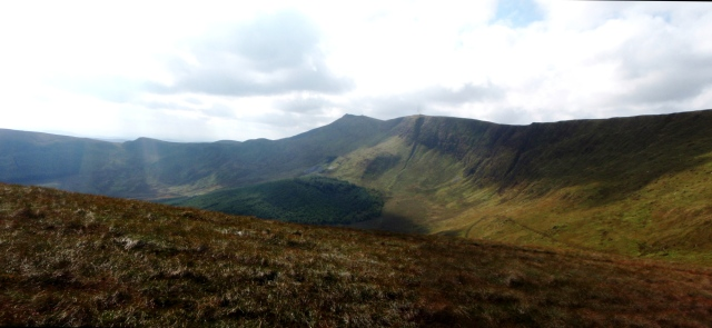 Cadair Berwyn (in the centre)