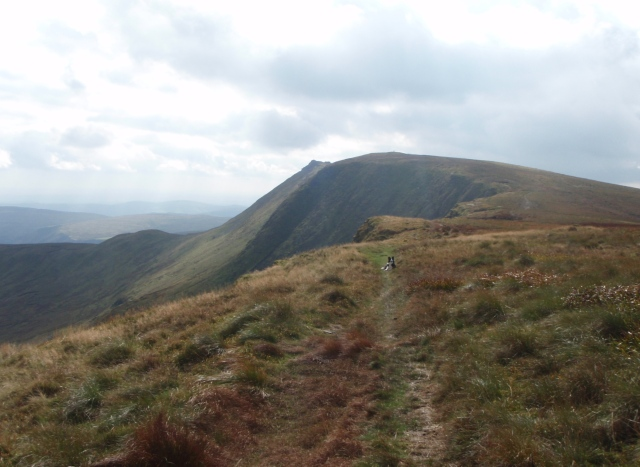 Continuing towards Cadair Berwyn