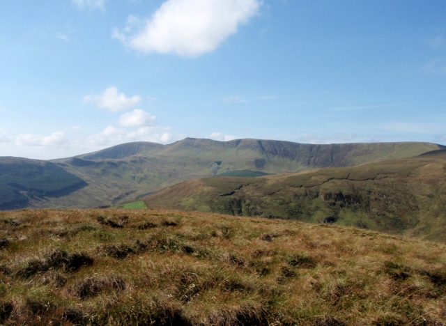 …. and a view of the Berwyn Ridge ahead
