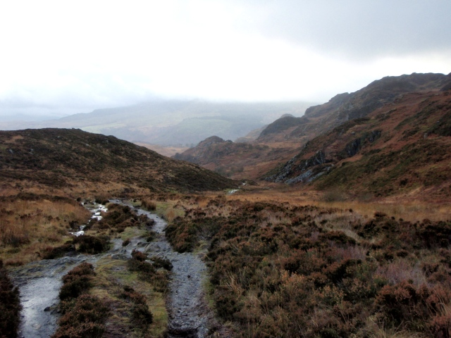 The path from Capel Curig to Trefriw