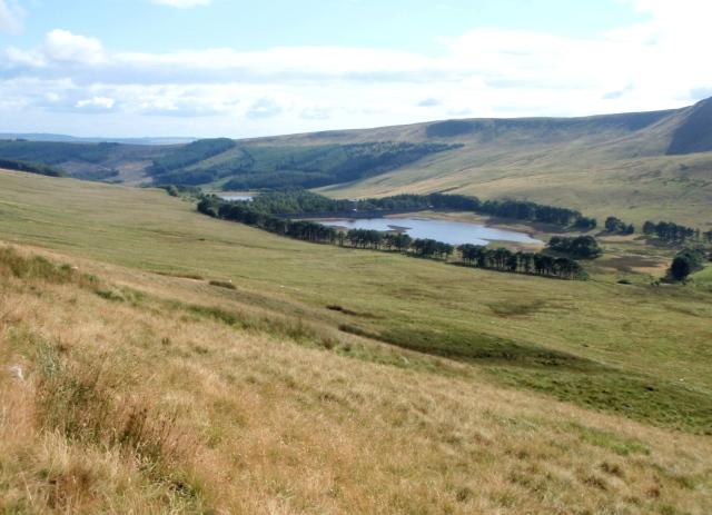 Upper Neuadd Reservoir (centre)