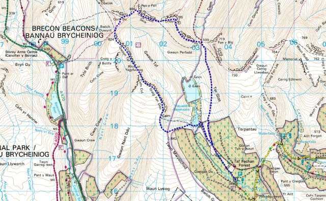 The route (clockwise)