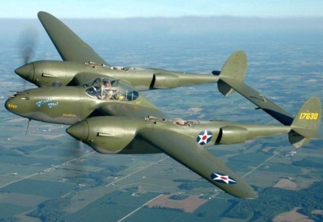 Lockheed P38 Lightning/F-5E