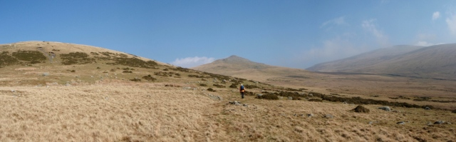 The North-western hills of the Carneddau