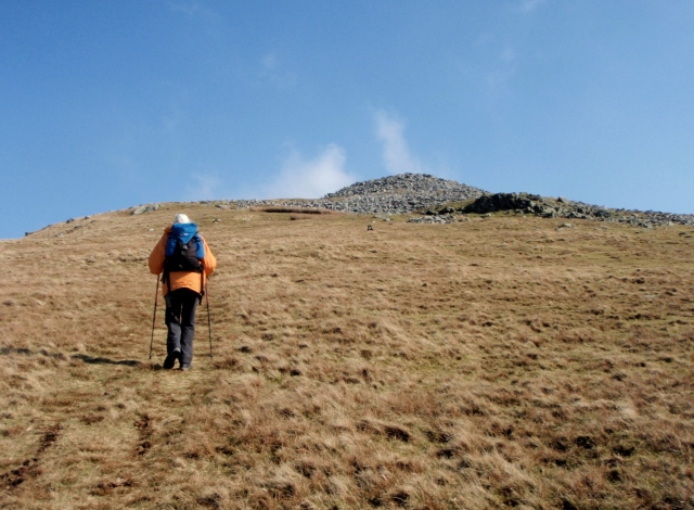 Heading for the top ….