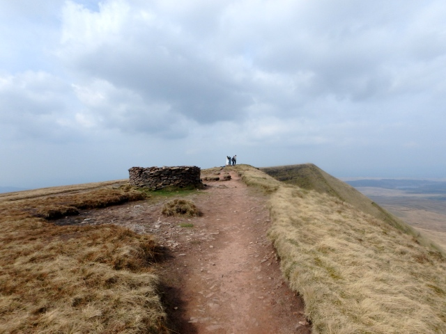 The summit of Fan Brycheiniog
