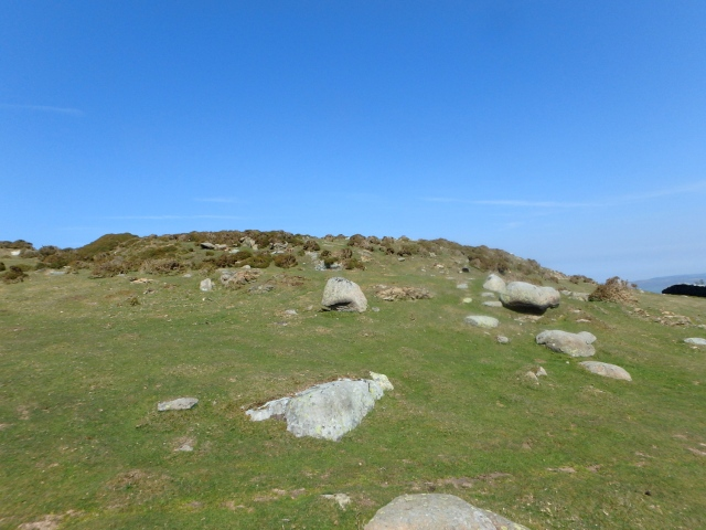 Iron Age hill-fort Caer Bach