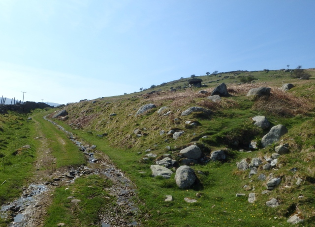 The Roman Road above Rowen