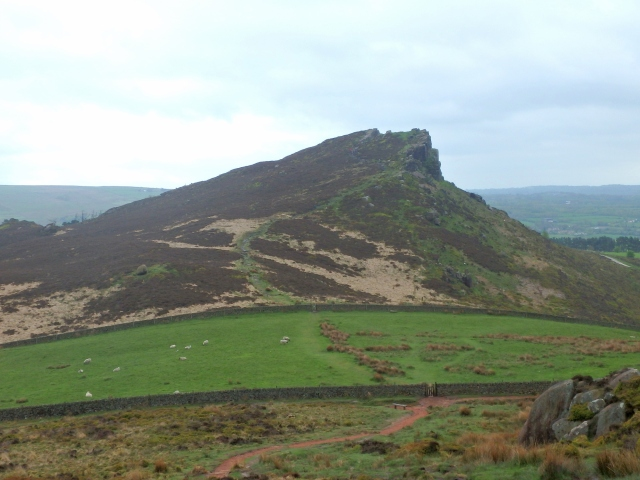 Hen Cloud at the southern edge of The Roaches edge