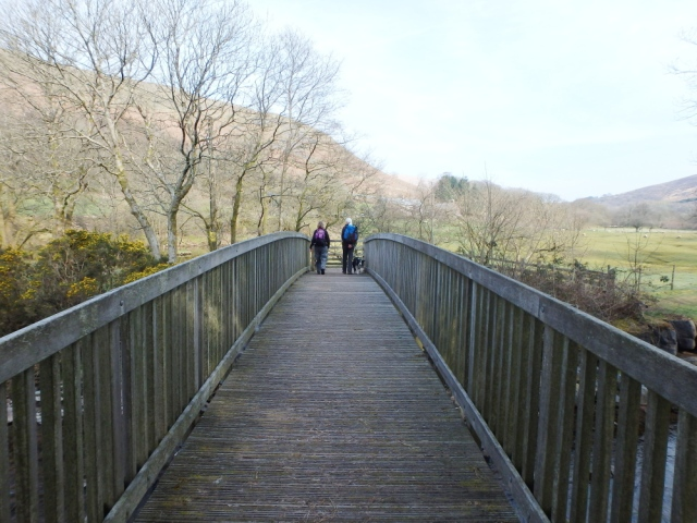 Setting out near Dan yr Ogof