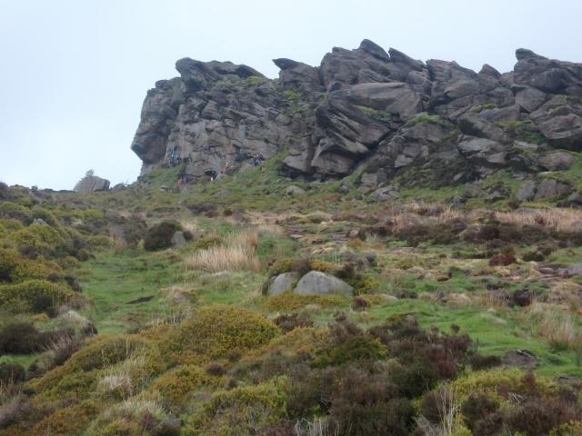 More climbing crags