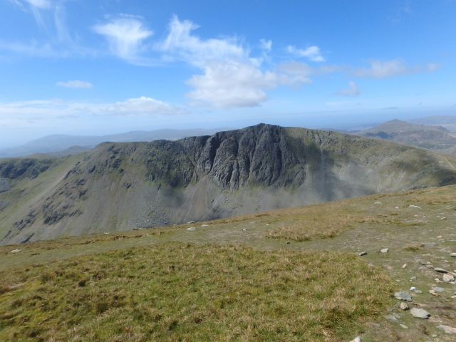Looking across to Dow Crag from the Old Man