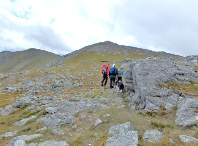 Last bit of uphill