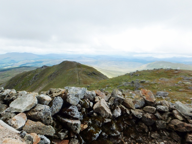 View to the South Summit ….