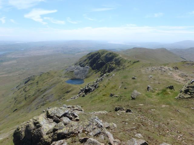 Blind Tarn below Brown Pike