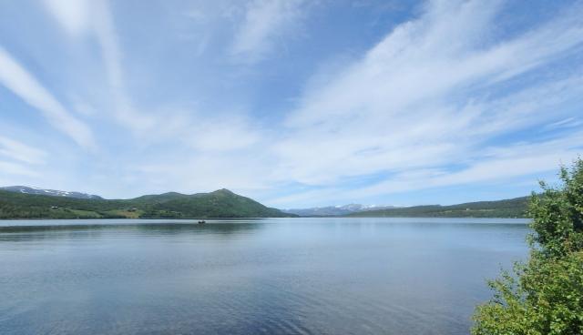 Lemonsjøen Lake in Jotunheimen