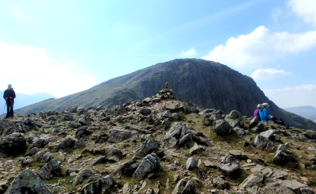 On Green Gable, looking towards Great Gable