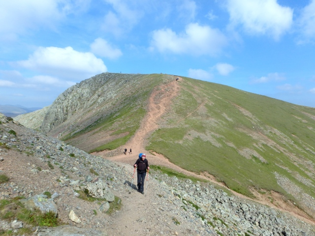 Looking back to Green Gable ….