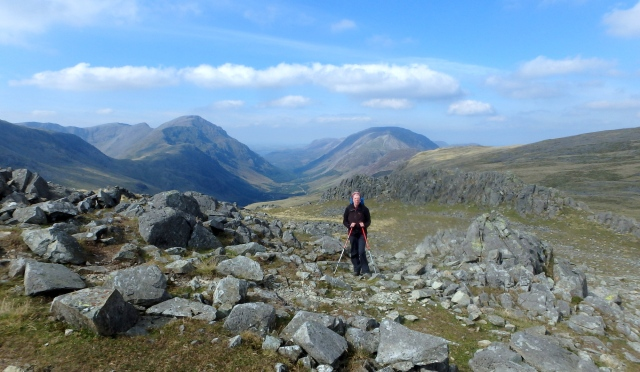 …. and a view down to Ennerdale