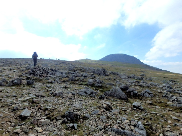 …. with Great Gable looming ahead