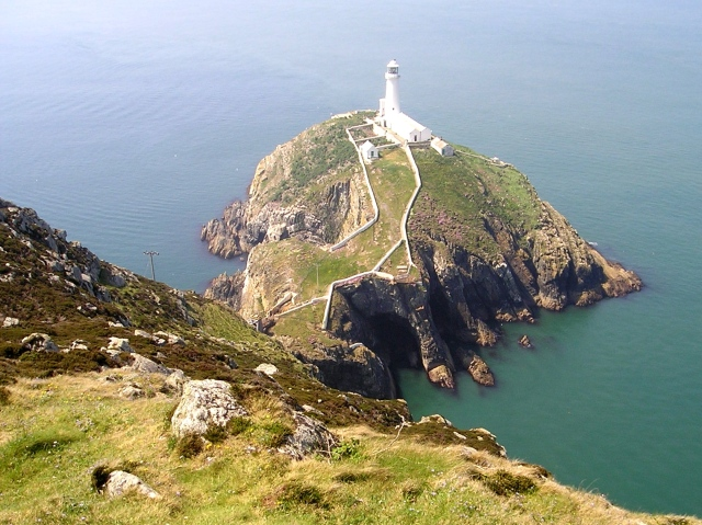 South Stack lighthouse on Ynys Môn (Anglesey)