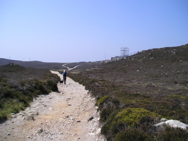 The track between North Stack and South Stack