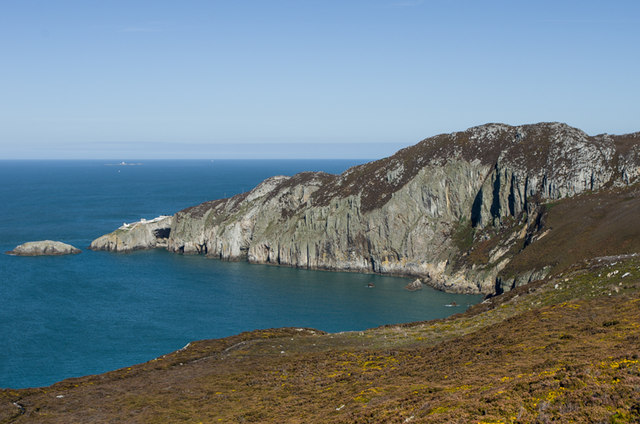 The Gogarth cliffs and North Stack (Ian Capper)