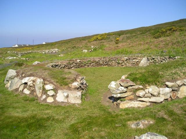 Cytiau'r Gwyddelod (The Irishmen's Huts) ancient monument