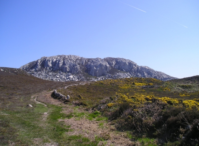 Holyhead Mountain, all 220 metres (720 ft) of it!