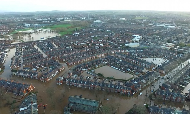 Carlisle flooded again – the third time in ten years