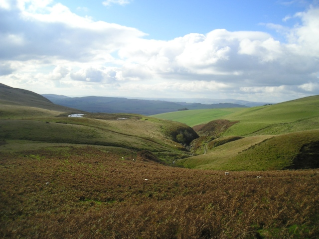 The view down Llan-Even Dingle on a pleasant summers day ….
