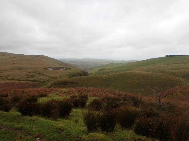 …. and the same view on a dank, blowy December day
