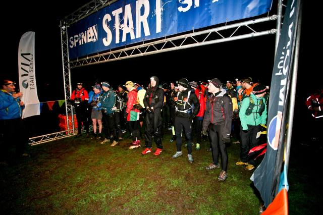 The 108 mile Challenger event (AKA the Fun Run!) sets off at 7 o'clock in the morning