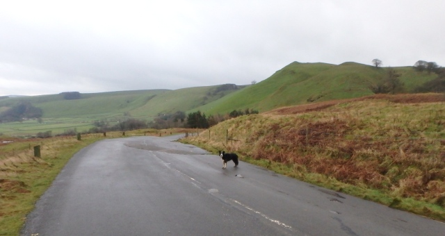 …. and heading down towards Castleton