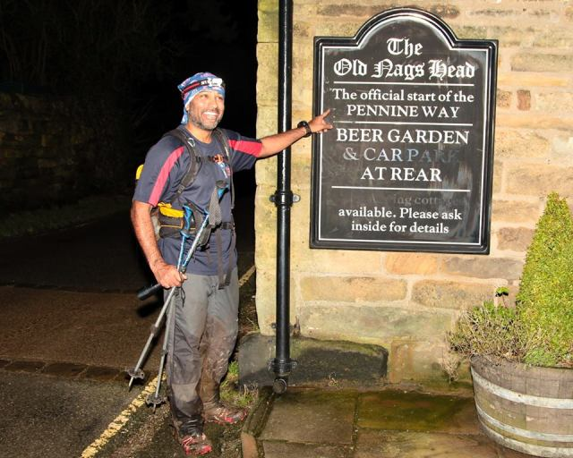 …. and the official start (or finish) of the Pennine Way